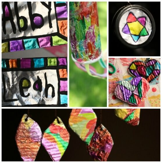 Sharpie and Tin Foil Projects for Kids