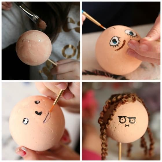 Step-photos-kids-making-self-portrait-ornaments