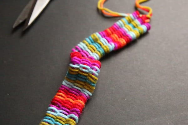 woven bookmark off straws