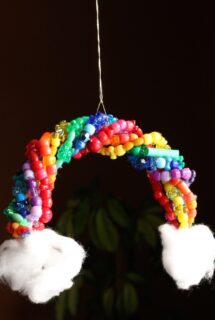 rainbow sun catcher feature image
