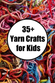 35+ easy yarn crafts for kids