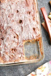Homemade-Rhubarb-Cake-9x13-pan