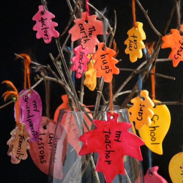 square image gratitude tree twigs in vase