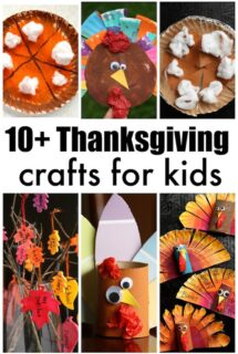 10+ Thanksgiving crafts for kids