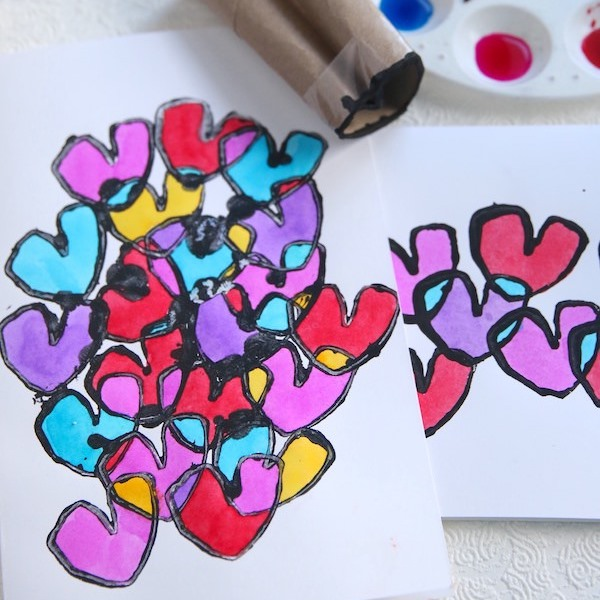 tp roll overlapping hearts cards square image